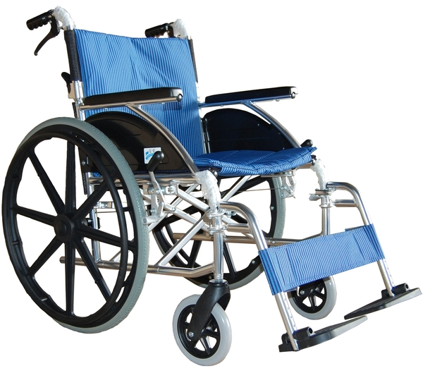 康復 輪椅 (未滅菌)   (鋁製輪椅 FZK-F17)