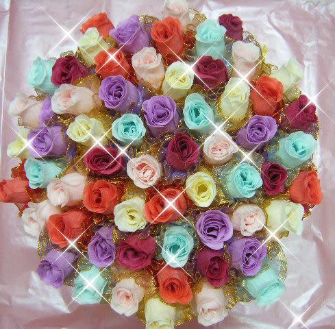 娃娃屋樂園~玫瑰香皂花.花棒 每支25元/金莎花棒/婚禮小物第二次進場/情人節花束