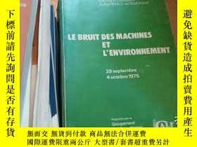 二手書博民逛書店LE罕見BRUIT DES MACHINES ET L ENVI