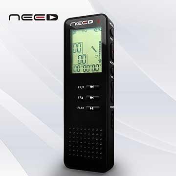 全新 NEED CR-801專業型輕巧錄音筆 8G
