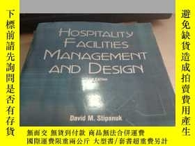 二手書博民逛書店HOSPITLITY罕見FACILITIES MANAGEMEN