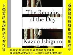 二手書博民逛書店The罕見Remains of the DayY449926 Kazuo Ishiguro(石黑一雄) 著