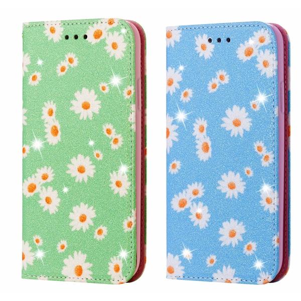 三星 S20 FE 雛菊皮套 手機皮套 插卡 支架 隱形磁扣 保護套