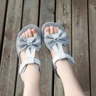 女童涼鞋 女童運動涼鞋新款夏季兒童小公主鞋爆款中大童軟底沙灘鞋-Ballet朵朵