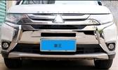 【車王小舖】三菱 Mitsubishi 2017 Outlander 中網框 中網飾條 水箱護罩 前保桿飾條 前保桿框
