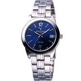 Valentino 范倫鐵諾 輝煌年代經典腕錶-寶藍 SM5107S藍