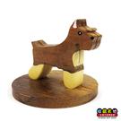 【收藏天地】木製狗狗名片座*雪納瑞∕送禮 擺飾 辦公室 療癒小物
