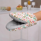 隔熱手套日本進口微波爐手套隔熱手套加厚防燙手套廚房烘焙耐高溫烤箱手套快速出貨