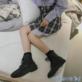 靴子 早秋馬丁靴女英倫風短靴女春秋單靴網紅瘦瘦靴新款百搭ins潮 年前鉅惠