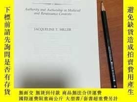 二手書博民逛書店Poetic罕見License, authority and authorship in medieval and