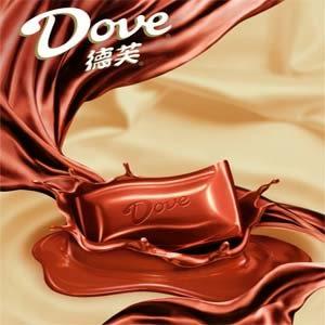 Dove德芙絲滑牛奶巧克力(80g/條)*2條【合迷雅好物超級商城】