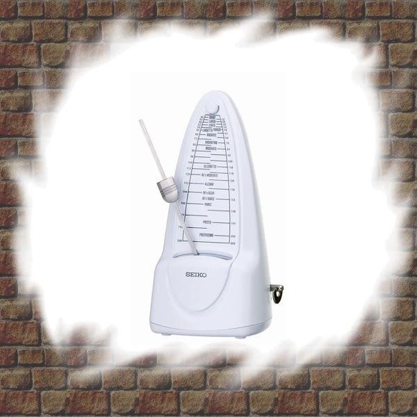 【非凡樂器】SEIKO SPM320 日製發條式節拍器 / 白色 公司貨