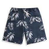 雙11狂歡速干沙灘褲男士泳褲情侶套裝海邊度假短褲女寬鬆海灘大褲衩夏   初見居家