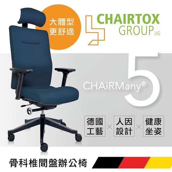 【德國 CHAIRTOX 】CHAiRMany 5 骨科椎間盤辦公椅/3色/H&D東稻家居