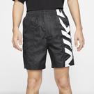 Nike SB Skate 男裝 短褲 慢跑 休閒 滑板 寬鬆 膝上 口袋 黑【運動世界】CI7348-010