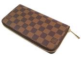 Louis Vuitton LV N41661 N60015 Damier 棋盤格紋拉鍊長夾 全新 現貨【茱麗葉精品】