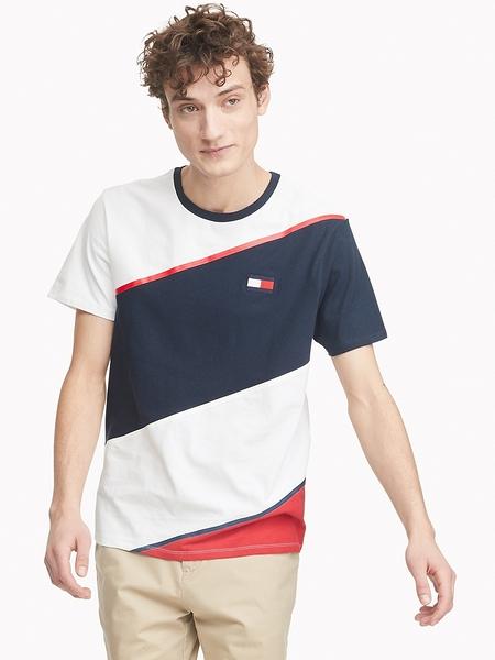 美國代購 Tommy Hilfiger 短袖條紋T恤 (S~2XL) ㊣