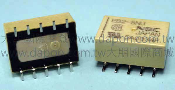 *大朋電子商城*NEC TOKIN EB2-5NU(日本製)繼電器Relay(5入)