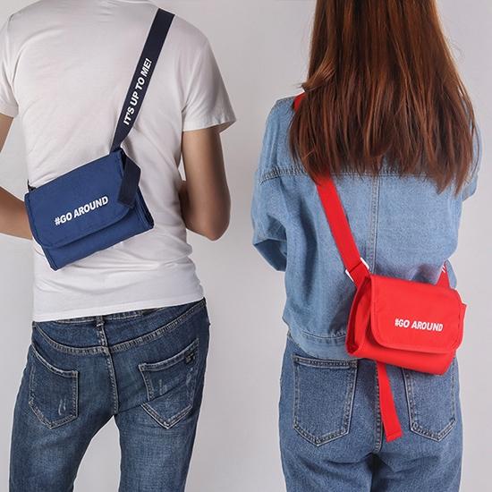 腰包 肩背 側背包 斜背長夾 隨身 出國 旅遊 證件包 防潑水 韓風 多背式斜背包 【J135】生活家精品