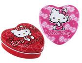 【卡漫城】 Hello Kitty 愛心 便條紙 鐵盒 二款任選 ㊣版 N次貼 收藏 Memo 收納 留言 小文具 置物盒