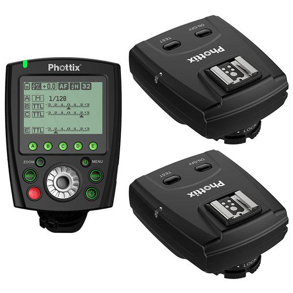 ◎相機專家◎ Phottix Odin II TTL 1對2無線閃燈觸發器 for Canon 送eneloop低自放電電池 群光公司貨