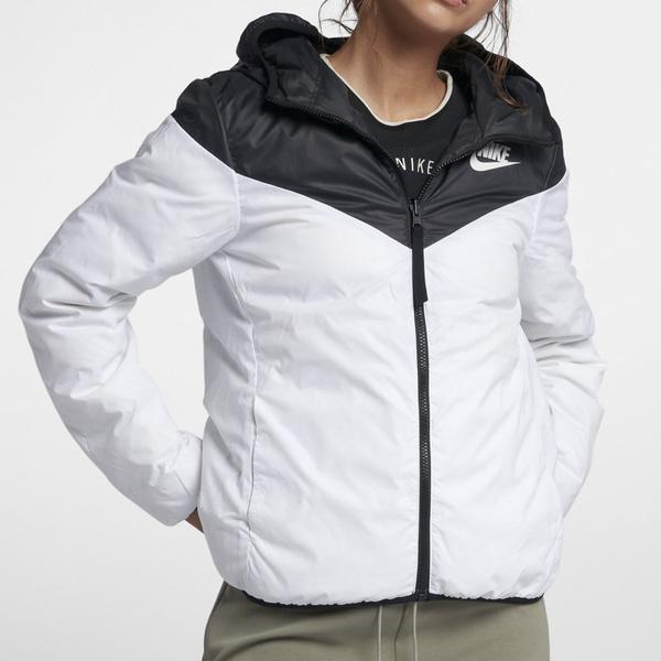 Nike AS W NSW Down Fill WR [939439-010] 女款 輕量 羽絨 連帽 外套 保暖 黑