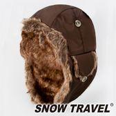 【SNOW TRAVEL】極地保暖遮耳帽『棕』AR-55 旅遊│賞雪│透氣│防風│保暖帽│遮耳帽│蒙古帽