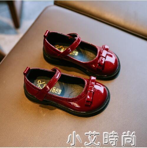 2021春秋新款女童小皮鞋軟底公主瑪麗珍鞋子兒童春款寶寶女孩單鞋 小艾新品