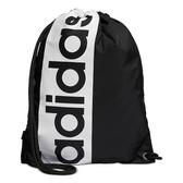 Adidas- 超大圖形背袋包(黑色)