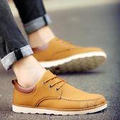 新款伐木鞋男英倫男鞋休閒鞋工裝鞋男大頭鞋縫制鞋板鞋子  秘密盒子