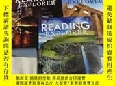 二手書博民逛書店READING罕見EXPLORER(3.4.5)3本合售Y685