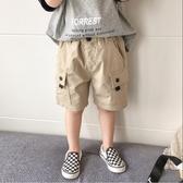 男童短褲男童夏天短褲新款中小童洋氣寬鬆中褲兒童夏季休閒薄款五分褲【快速出貨八折下殺】