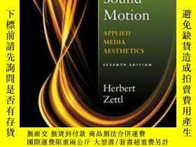 二手書博民逛書店Sight罕見Sound Motion: Applied Media Aesthetics (the Wadswo