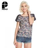 PROTEST 女 短袖T恤 (火焰紅) TEMPLE T-SHIRT