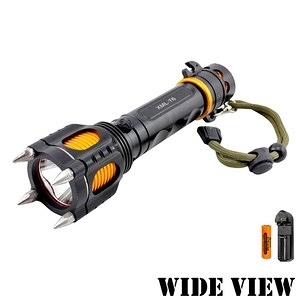 【WIDE VIEW】大黃蜂T6戰術防衛手電筒組(NZL-A14-A)