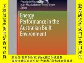 二手書博民逛書店Energy罕見Performance in the Australian Built Environment