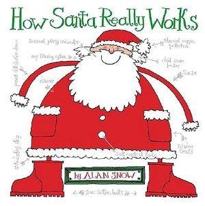 【麥克書店】 HOW SANTA REALLY WORKS/英文繪本《聖誕節》