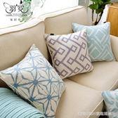 北歐抱枕床頭靠墊大靠背簡約現代幾何沙發靠枕腰枕大靠包 童趣潮品