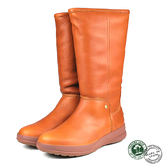 【Panama Jack】真皮毛內裡時尚長靴/女靴/毛靴 棕色(P7123W-BR)