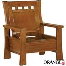 【采桔家居】美沙蒂 典雅風實木單人座沙發椅