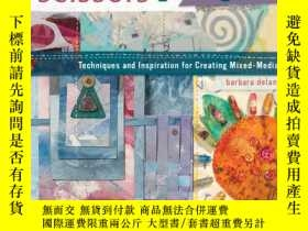 二手書博民逛書店The罕見Cloth Paper Scissors Book: