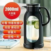 冷水壺玻璃耐熱高溫防爆水瓶家用大容量涼白開水杯茶壺防摔涼水壺