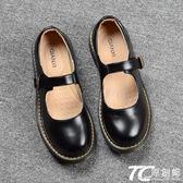娃娃鞋/日系娃娃鞋女秋季新款復古圓頭學院風搭扣小皮鞋