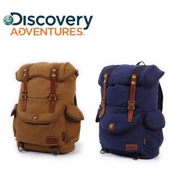 Discovery Adventures 復古系列 時尚休閒 後背包 15L 《YV8702》快樂生活網