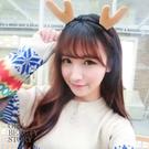 SISI【A8023】現貨萌萌噠麋鹿角兔耳朵豹紋貓耳造型髮箍頭飾聖誕趴踢小物萬聖節派對