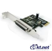 【超人百貨K】KTNET PCI E 25母*1P 9901 列印埠卡