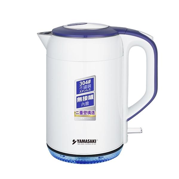 (領券再折)(福利品) 山崎2.0L晶炫防燙電水壺 SK-1825S