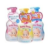 牛乳石鹼 COW Q比嬰兒泡泡沐浴乳(400ml) 嬰兒皂香/無香/超保濕 多款可選【小三美日】