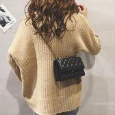 小包包超火菱格鏈條小包包女2019新品潮韓版百搭時尚斜挎包【快速出貨】