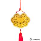 Jove Gold 漾金飾 謝神明金牌-黃金加大版0.1錢